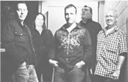 Photo of the rock and country band Third Degree Birnz.